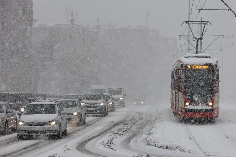 Tej zimy największy atak zimy nastąpił w dniach 14-16 stycznia