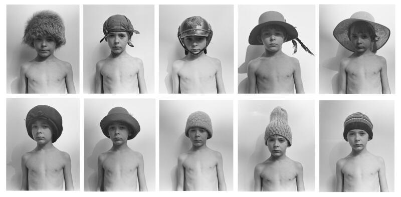"""Anna Kutera (ur. 1952 r. w Zgorzelcu) - """"Układ Morfologiczny"""", 1975 r. 10 fotografii czarno-białych, odbitki współczesne, wydruk pigmentowy na papierze archiwalnym, 30 x 40 cm każda, sygnowane, z pierwszą i drugą edycją egzemplarzy autorskich"""