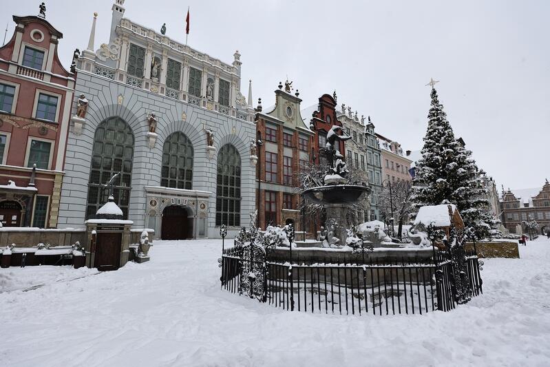 Tak wyglądała Droga Królewska w sobotę 16 stycznia. Nie jest wykluczone, że w weekend 23-24 stycznia, śnieg znowu popada