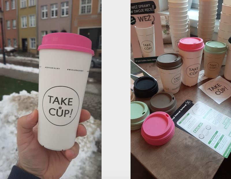 Kup dowolny napój w kubku wielokrotnego użytku, wpłać 5 zł kaucji i oddaj kubek w partnerskim lokalu w Polsce - co powiecie na taką formę dbania o środowisko?