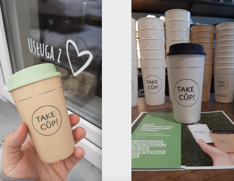 Lokalne kawiarnie mogą dołożyć swoją cegiełkę do eko-rewolucji w kraju. Z propozycją systemu kaucyjnego wychodzi Take!Cup, do którego dołączyła kawiarnia Ciekawa - jako pierwsze miasto na Pomorzu