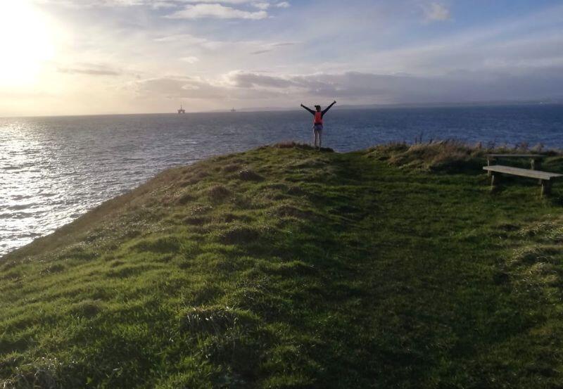Fife Coastal path – to szlak pieszy ciągnący się wzdłuż wschodniego wybrzeża Szkocji. Moim celem jest przebiegnięcie we fragmentach całego szlaku przed końcem roku akademickiego