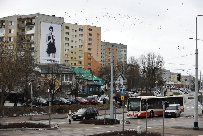 Wielkoformatowa reklama przy ul. Warneńskiej w Pieckach-Migowie jest zgodna z zapisami Uchwały Krajobrazowej Gdańska