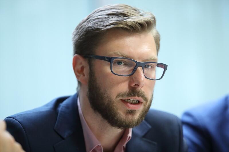Michał Szymański zastępca dyrektora Gdańskiego Zarządu Dróg i Zieleni ds. przestrzeni publicznej