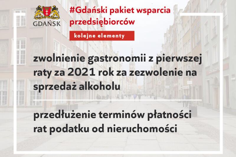 Gdańscy radni zagłosowali za uchwałą dotyczącą kolejnych działań pomocowych dla przedsiębiorców dotkniętych skutkami pandemii
