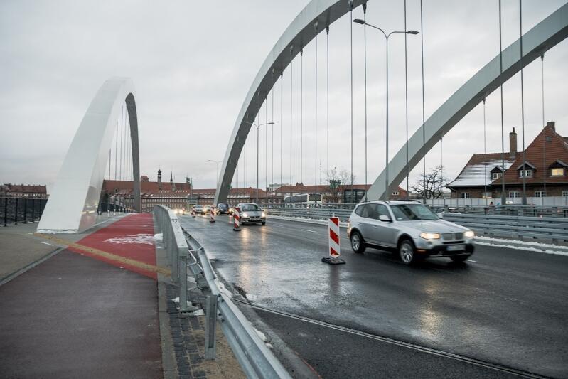 W piątek, 29 stycznia, oficjalnie otwarto wiadukt Biskupia Górka