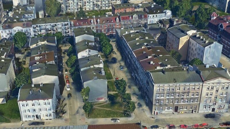 Na ul. Polnej (w środku) będzie prowadzona przebudowa