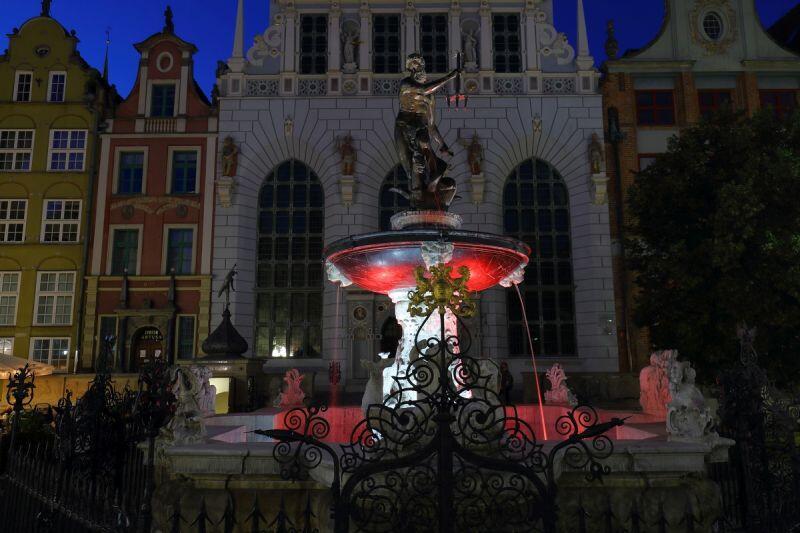 7 lutego pojawią się biało-czerwone iluminacje w Gdańsku na znak solidarności z BIałorusią