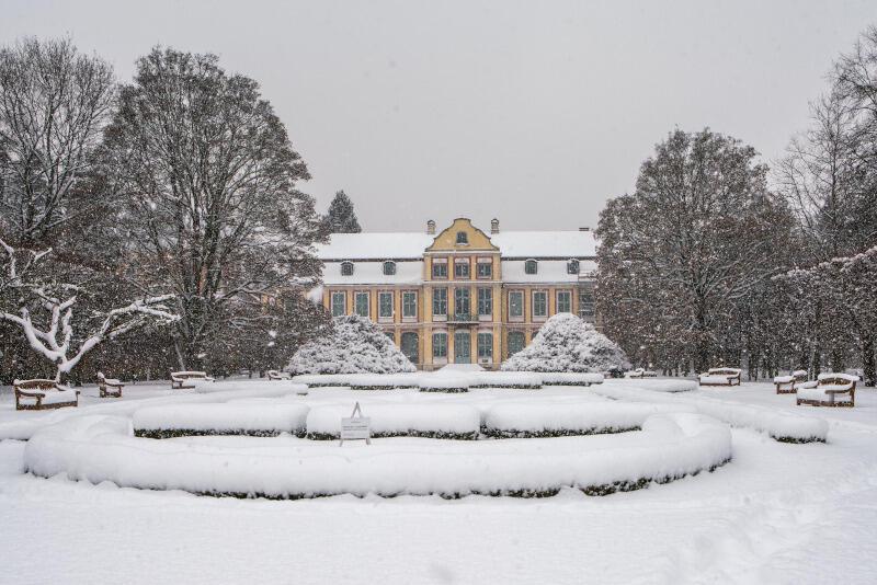 Biała zima jest nie tylko piękna, ale i potrzebna - ma kluczowe znaczenie dla zachowania poprawnego bilansu wodnego. Na zdjęciu park Oliwski pokryty śniegiem (9.02.2021 r.)