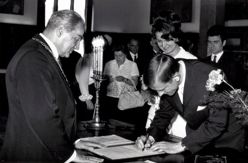 Ratusz Staromiejski jako lokalizacja ślubu był bardzo pożądany, 1 czerwca a1968