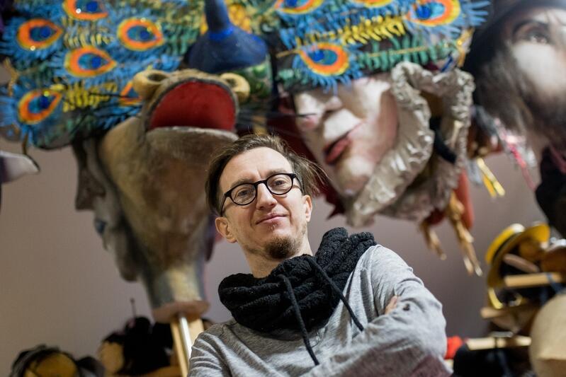 Michał Derlatka, dyrektor Teatru Miniatura: - To był bardzo intensywny rok. Spodziewałem się, że będę wymyślał spektakle, a okazało się, że zarządzam sztabem kryzysowym