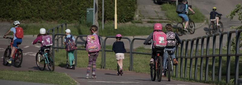 Rower, hulajnoga, rolki, deskorolki - środki transportu dla uczestników Rowerowego Maja