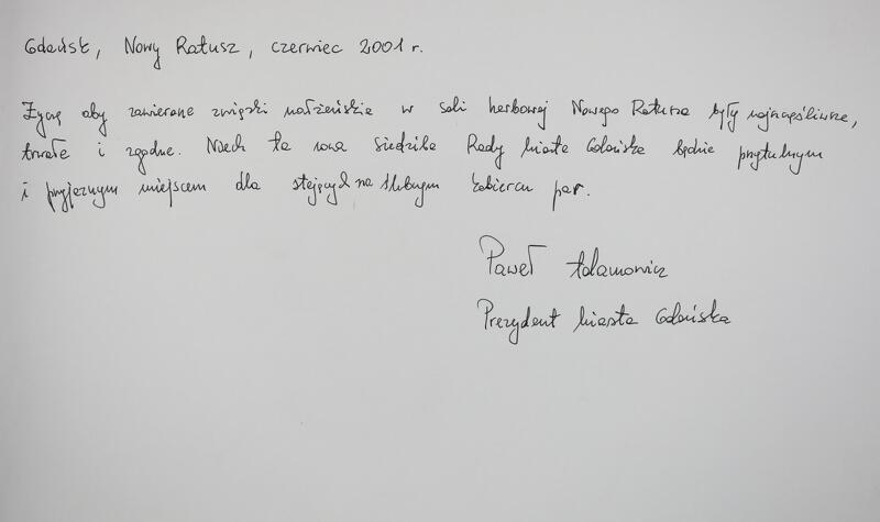 autograf Adamowicz