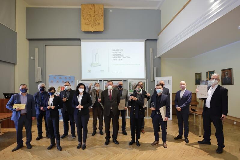 Uroczystość wręczenia nagród w konkursie Najlepsza Gdańska Realizacja Architektoniczna 2018-2019