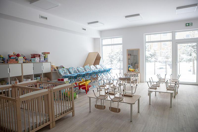 ... i jedna z sal dla dzieci