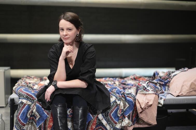 """Elżbieta Depta, reżyserka i psycholożka: - Kiedy dostałam propozycję wyreżyserowania tej sztuki, wiedziałam, że to jest """"mój"""" temat. Bardzo ważny, aktualny i nieporuszany praktycznie polskim teatrze"""