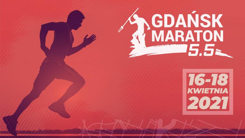 tło na wydarzenie rungdn gdansk maraton 5 i pół
