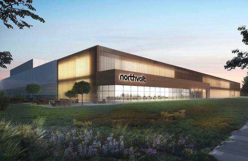 Tam ma wyglądać nowy zakład firmy Northvolt, kóry powstanie w Gdańsku