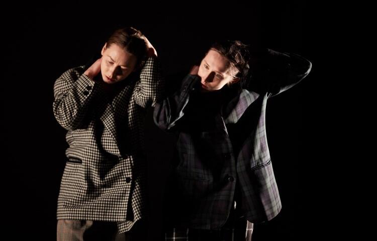 Nagradzany spektakl 102 i pół  to duet Magdaleny Kowali i Joanny Woźnej. Tancerki opowiadają o życiu dwojga ludzi - są tu ich wspomnienia, marzenia, emocje