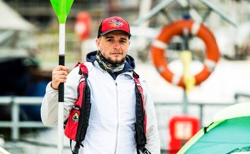 Szymon Machnowski jest żołnierzem, a jednocześnie podejmuje różne ekstremalne wyzwania