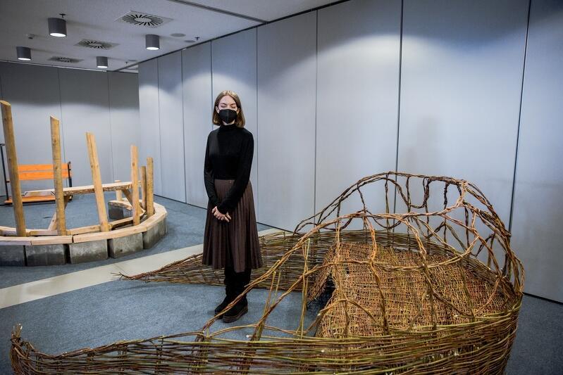 Nz. Anna Neubauer i jej propozycja plażowej ławki