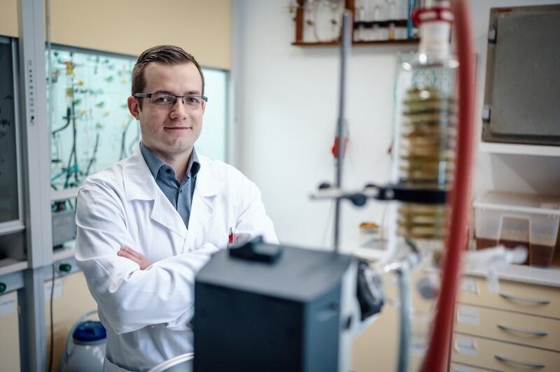 NZ. dr inż. Mateusz Daśko z Politechniki Gdańskiej