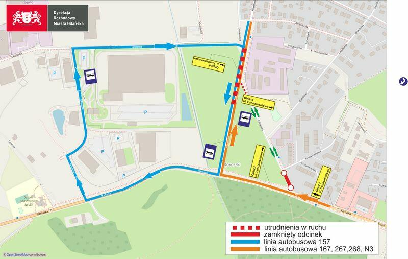Nowatorów etap II 24-02-21 szablon OpenStreetMap