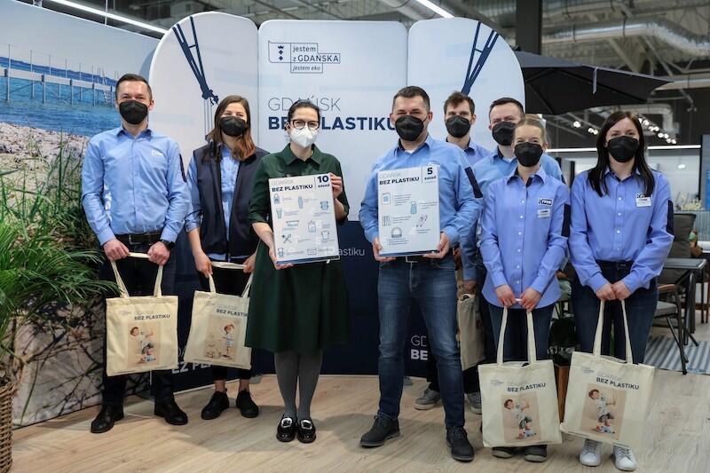 W czwartek, 4 marca 2021 roku firma Jysk dołączyła do programu Gdańsk bez plastiku , stając się 38 partnerem tej inicjatywy