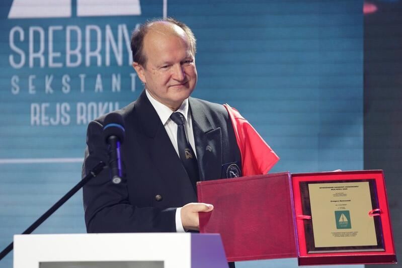 Kadm. Czesław Dyrcz - przewodniczący jury w konkursie Rejs Roku