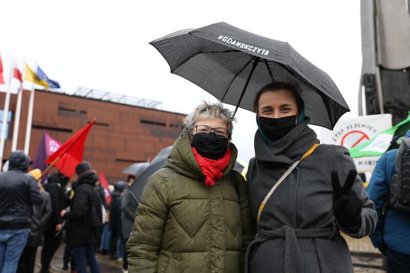 Zastępca prezydent Gdańska ds. edukacji i usług społecznych Monika Chabior z mamą
