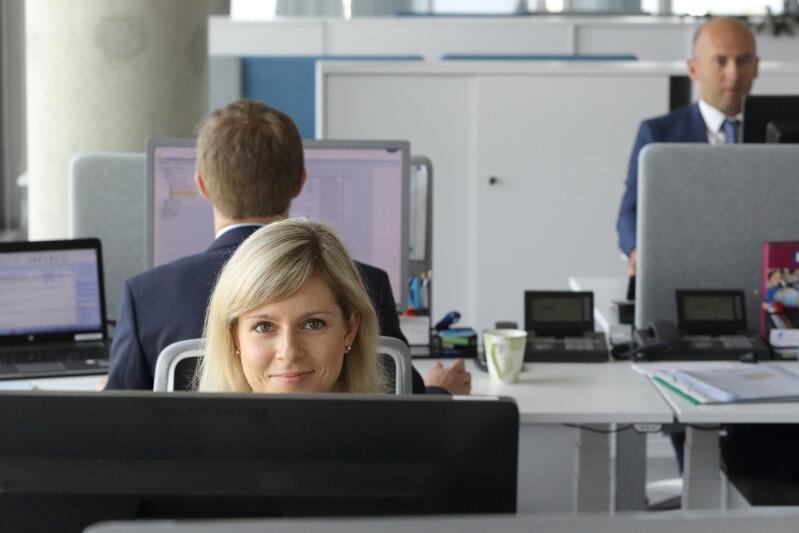 Udział kobiet w strukturze pracujących w Gdańsku wyniósł w 2019 roku 50,7 proc. - Biuro Thyssen Krupp w Gdańsku,