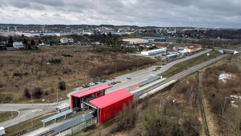Do stacji PKM Gdańsk Kiełpinek prowadzić będzie droga rowerowa