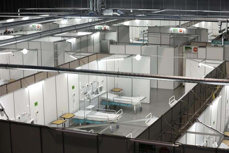 W szpitalu tymczasowym w Gdańsku maksymalnie może być 400 łóżek