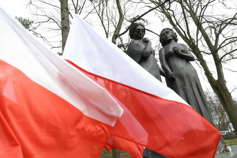 Pomnik Matki Polki i Rosjanki na Cmentarzu Wojennym Żołnierzy Radziecki w Gdańsku