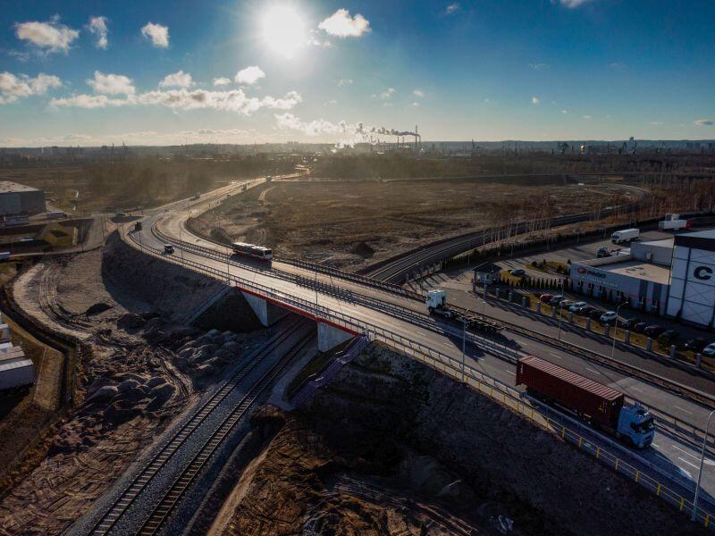 Port w Gdańsku bardziej dostępny. 17 marca kierowcy mogli już korzystać z nowych dróg