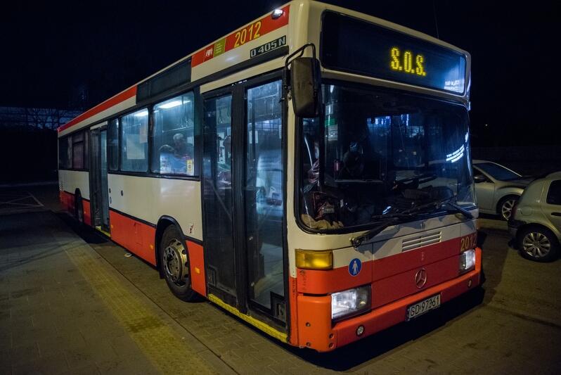 Autobus SOS ma kilka przystanków: w Sopocie, na Przymorzu, we Wrzeszczu i Gdańsku Głównym