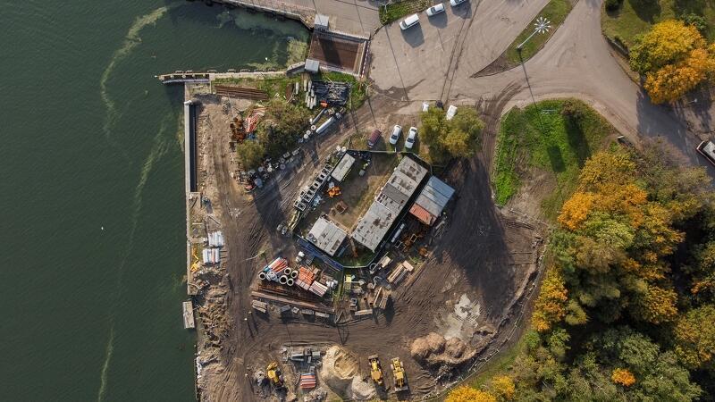 Plac nadwodny w Nowym Porcie to miejsce z dużym potencjałem