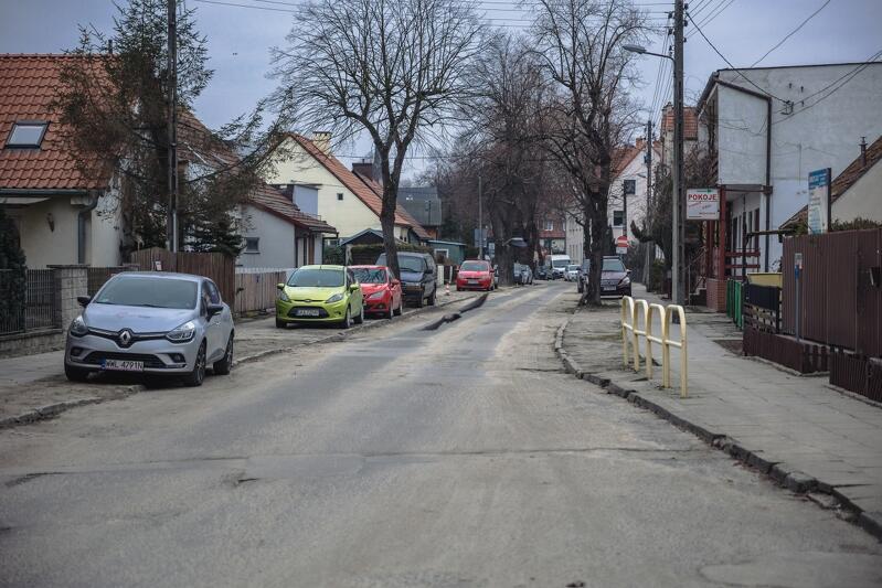 Dyrekcja Rozbudowy Miasta Gdańska ogłosiła przetarg na remont ul. Pułaskiego w Brzeźnie