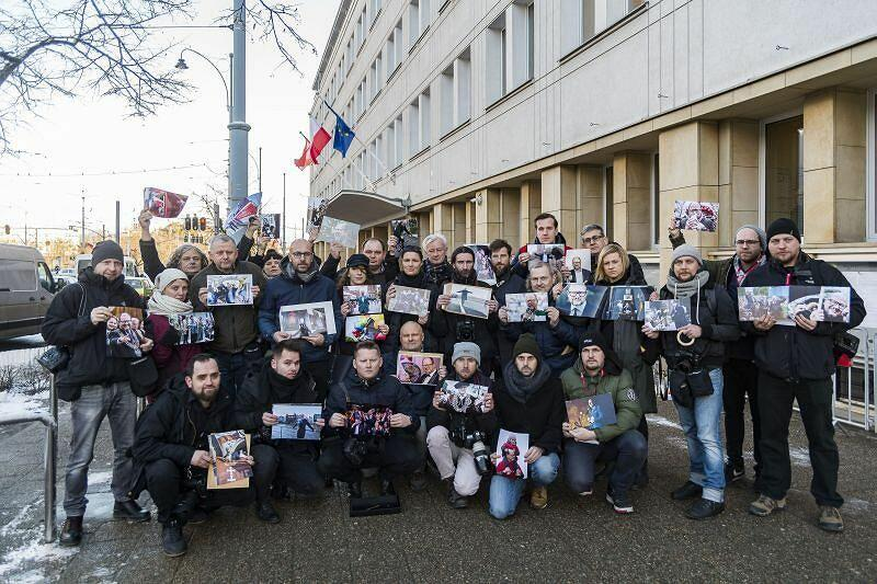 Styczeń 2019 r. Gdańscy fotoreporterzy żegnają Pawła Adamowicza