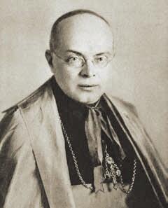 Biskup Edward O'Rourke, około 1928