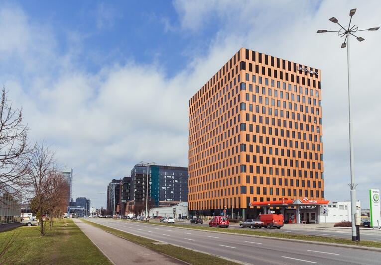Firma LEO Pharma ma w budynku Wave do dyspozycji 1500 mkw. powierzchni biurowej wraz z imponującym widokiem z 10. piętra