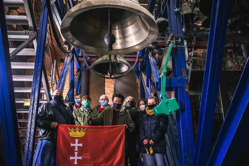 Konfraternia Dzwonników Kościoła św. Katarzyny w Gdańsku pod dzwonem Katarzyna