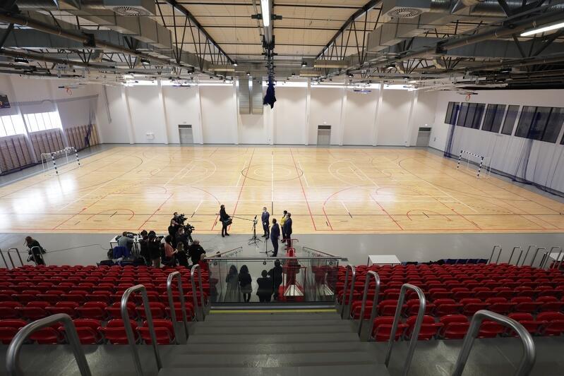 Hala sportowa, miejsca dla widzów