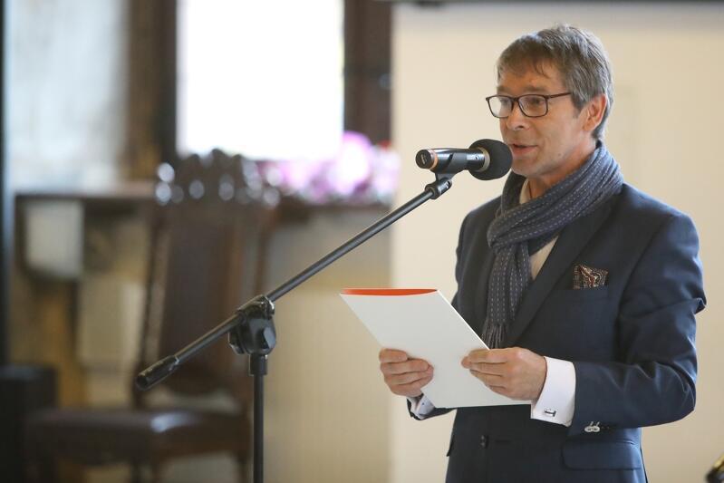 Prof. Krzysztof Polkowski, rektor Akademii Sztuk Pięknych w Gdańsku