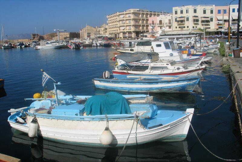Kreta. Stary port w Chani