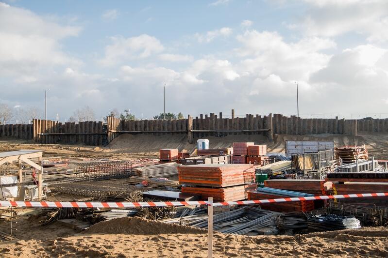 Na tym terenie (ul. Jabłoniowa) powstaje Zakład Termiczny Przekształcania Odpadów Komunalnych w Gdańsku - Port Czystej Energii