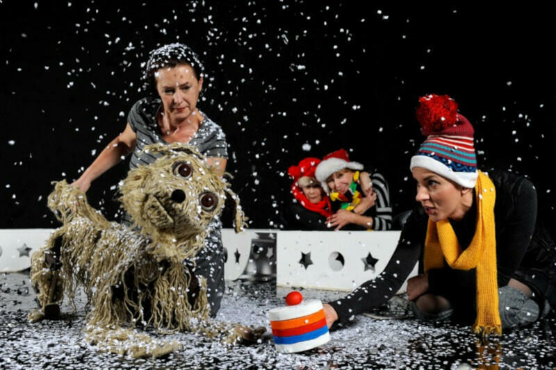 """""""Baltic. Pies na krze"""" to pierwszy spektakl dokumentalny dla dzieci zrealizowany przez Teatr Miniatura"""