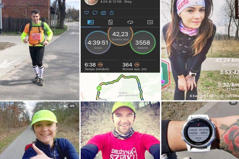 Informacje o biegaczach, którzy już zmierzyli się z wyzwaniem 5.5 Gdańsk Maratonu zamieszczane są na bieżąco na profilu społecznościowym imprezy