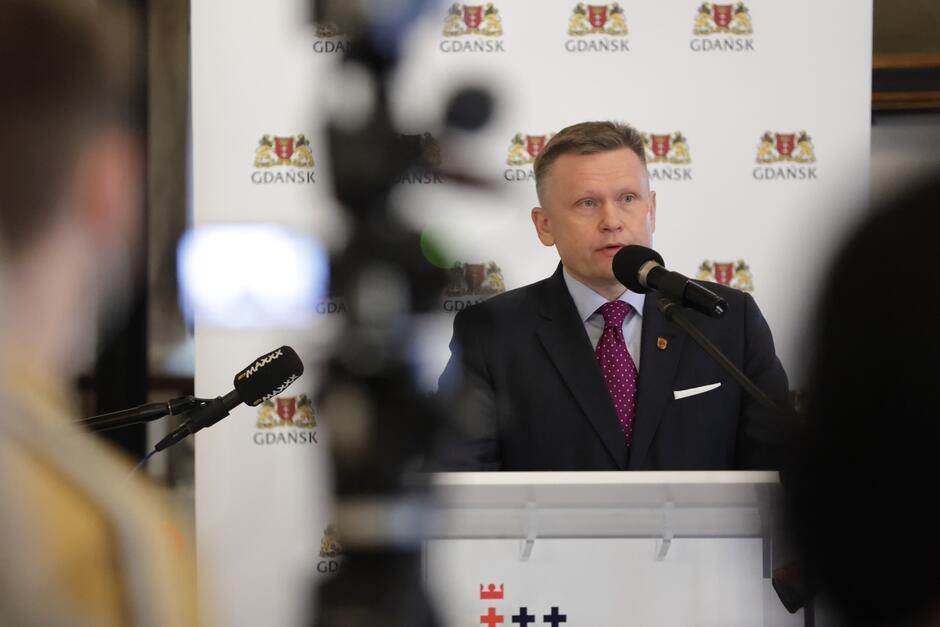 Dyrektor Muzeum Gdańska Waldemar Ossowski opowiadał o nowej siedzibie Muzeum Bursztynu, która mieścić się będzie w Wielkim Młynie