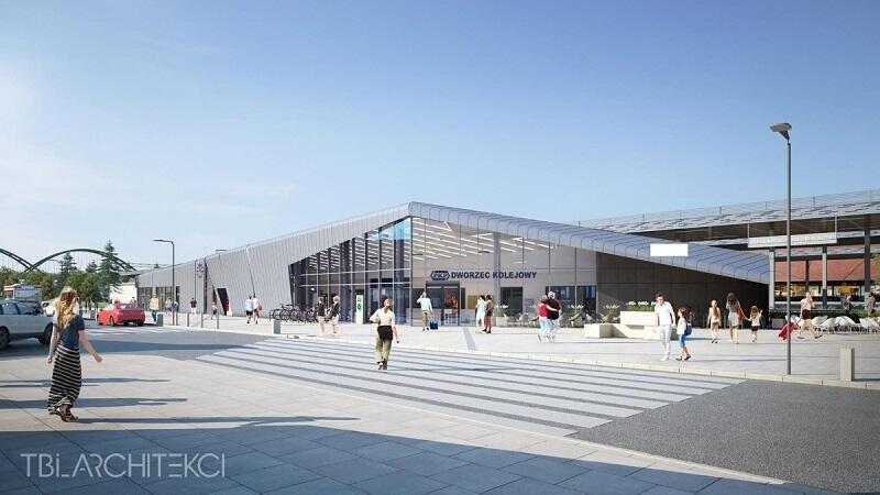 Tak będzie wyglądał dworzec kolejowy we Wrzeszczu już pod koniec 2022 roku